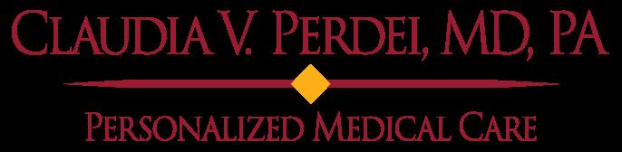 Claudia Perdei, MD Logo